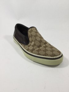 Gucci Brown beige Athletic