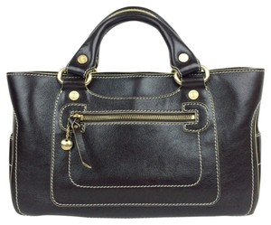 Céline Satchel in dark brown