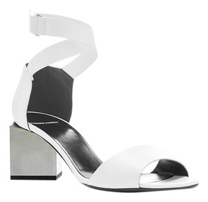 Pierre Hardy White Sandals