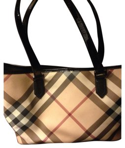 Burberry Brit Tote in Plaid