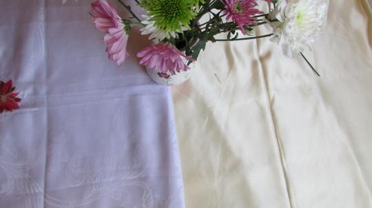 Ivory Tablecloth