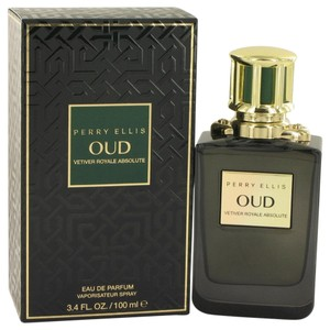 Perry Ellis PERRY ELLIS OUD VETIVER ROYALE ABSOLUTE ~ Eau De Parfum Spray 3.4 oz