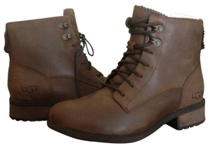 UGG Australia Leather Brown Boots