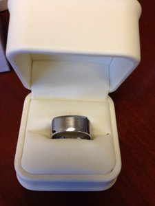 Men's Comfort Fit Cobalt Ring