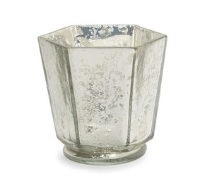 West Elm Mercury Glass Holders (15) Votive/Candle