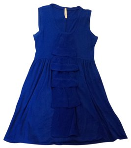 Oonagh by Nanette Lepore short dress Royal Blue on Tradesy