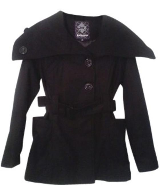 Preload https://img-static.tradesy.com/item/12304/dollhouse-black-wide-collar-belted-pea-coat-size-4-s-0-0-650-650.jpg