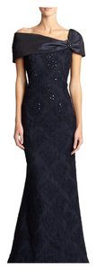 Teri Jon by Rickie Freeman Gown Embroidered Embellished Dress