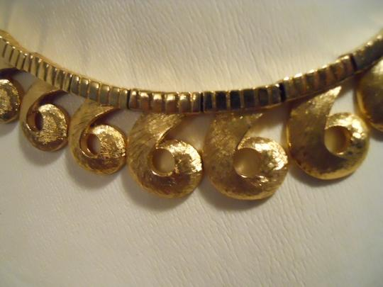 Other Vintage Vendome textured swirl choker Image 1