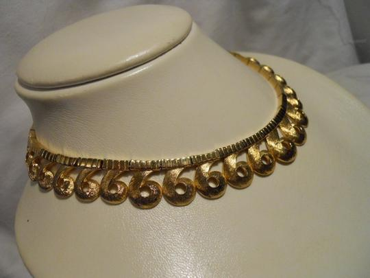 Other Vintage Vendome textured swirl choker Image 5