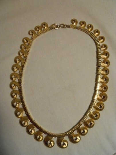 Other Vintage Vendome textured swirl choker Image 6
