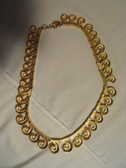 Other Vintage Vendome textured swirl choker Image 7