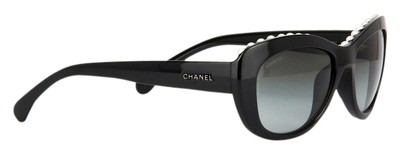 6c07c0145103 Chanel Sunglasses 6038H Black Pearl collection - 52% Off Retail - Tradesy