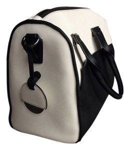 Hayden-Harnett Satchel in Black & White