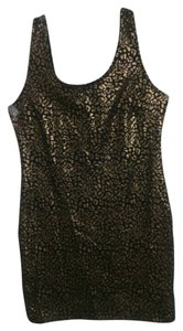 Forever 21 short dress Black gold on Tradesy