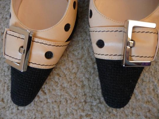 Givenchy Black and Tan Pumps Image 1