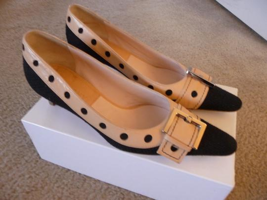 Givenchy Black and Tan Pumps Image 2