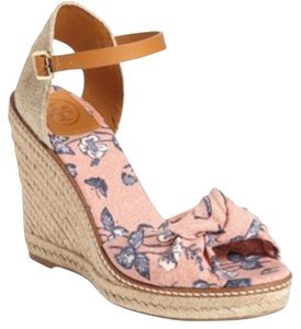 Tory Burch Olea Floral Wedges
