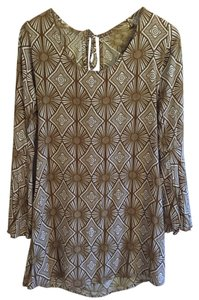 YIREH short dress Sand Dollar Print 70's Scoop Back on Tradesy