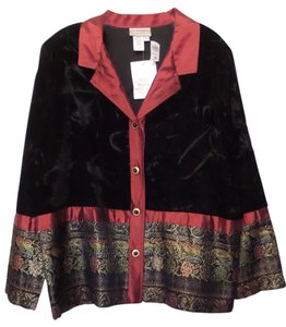 Coldwater Creek Dressy Professional Multi-Color Jacket