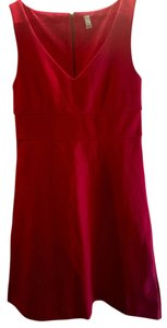 J.Crew short dress Red Date Night Brunch on Tradesy