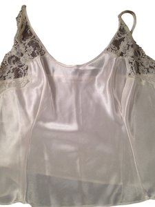 Victoria's Secret Satin Cami Top Cream