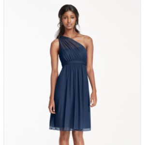 David's Bridal Marine Dress