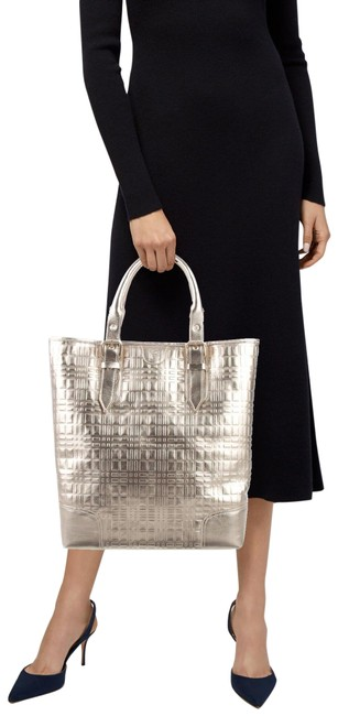 Item - Shopper Soft Gold Leather Tote
