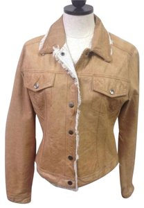 Jakett New York Womans Tan Beige Jacket