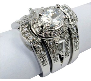 3-1 VINTAGE STYLE WEDDING RING SIZES 6, 7, 8