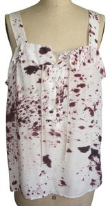 3.1 Phillip Lim Lace Up Animal Print Tunic