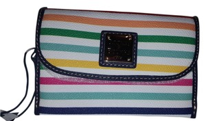 Dooney & Bourke catalina rainbow wristlet wallet