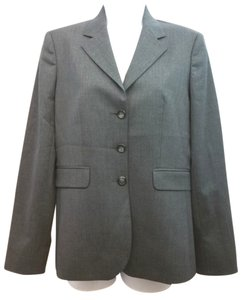 Brooks Brothers Stretch Wool Jacket DARK GRAY Blazer