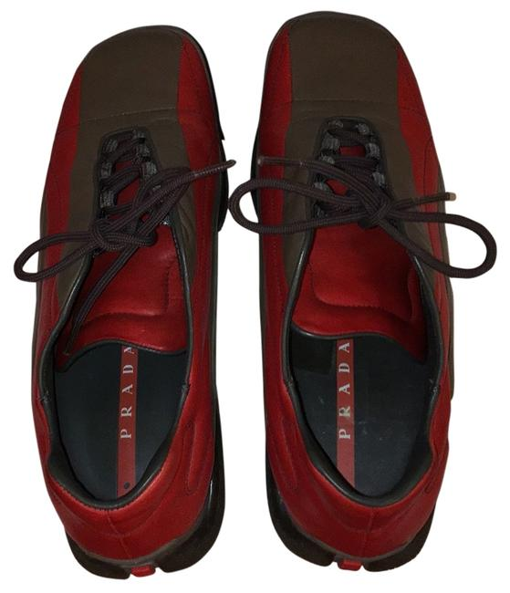 Item - Bicolore Sport Red/Dark Gray Athletic Shoes