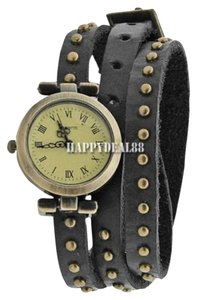 Independent Clothing Co. Woman Classic Roma Number Dial Quartz Classic Leather Strap Watch