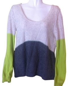 Free People Fp Beach Colorblock Wool Cashmere Sweater
