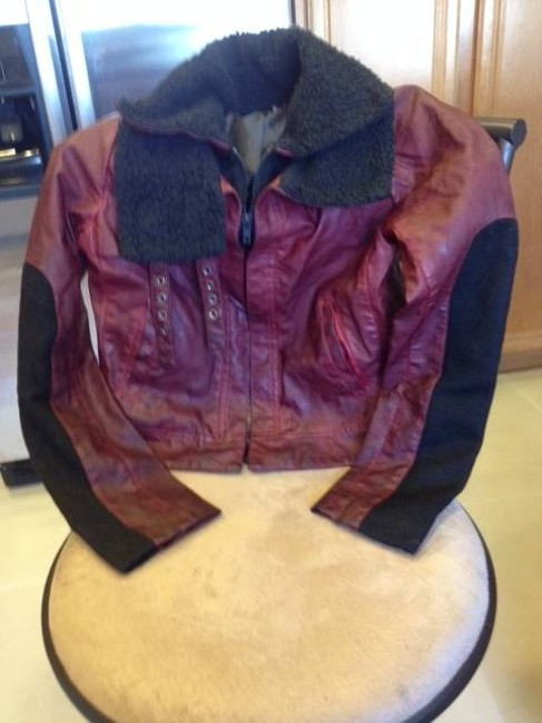 Vera Wang Faux Leather New Without Tags Motorcycle Jacket