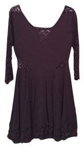 Free People short dress Brown and gray on Tradesy