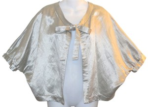 Anthropologie Silver Jacket