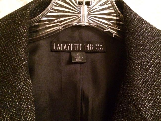 Lafayette 148 New York Dark Navy-Almost Black Blazer Image 1