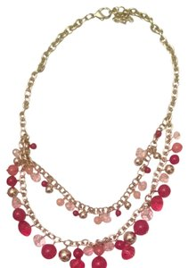 Ann Taylor LOFT Pink Necklace