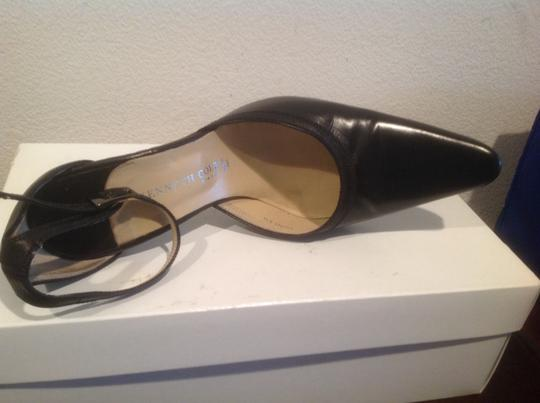 Kenneth Cole All Leather From Italy Black Pumps