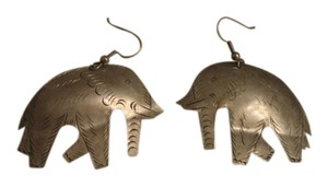 Other Silver elephant earrings