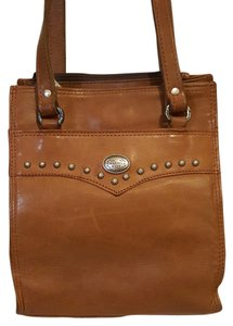 American West Vintagem Tooled Leather Shoulder Bag