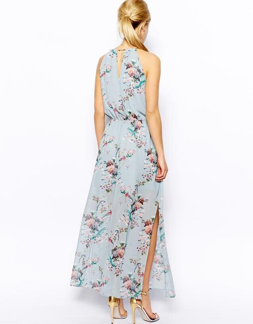 floral, blue Maxi Dress by Oasis Image 1