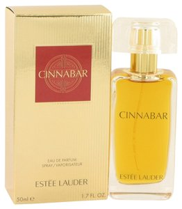Este Lauder CINNABAR by ESTEE LAUDER ~ Eau de Parfum Spray (New Packaging) 1.7 oz