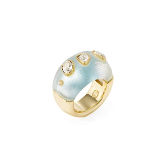Preload https://img-static.tradesy.com/item/12311653/alexis-bittar-turquoisegold-bittarcrystal-confetti-dotted-ring-0-2-540-540.jpg