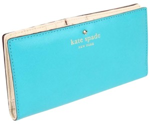 Kate Spade Kate Spade Teale/ivory Bifold Stacey Wallet New With Tags