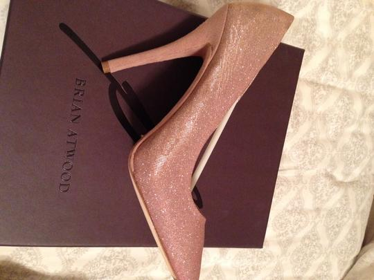 Brian Atwood Pink Shimmer Pumps