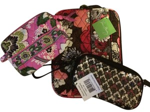 Vera Bradley Tablet Sleeve & Shimmer Wristlet & Small Cosmetic
